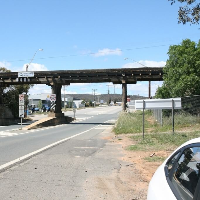 Rail Bridge Queanbeyan