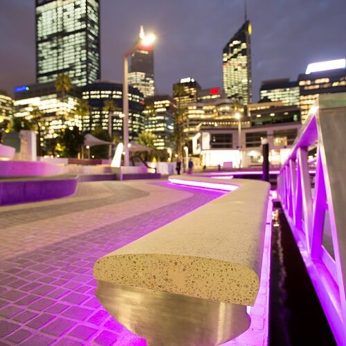 Elizabeth Quay Seating