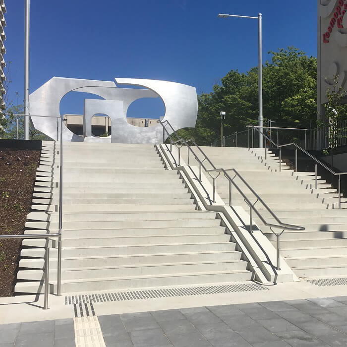 Woden Bus Interchange Stairs