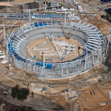 Perth Stadium Seating